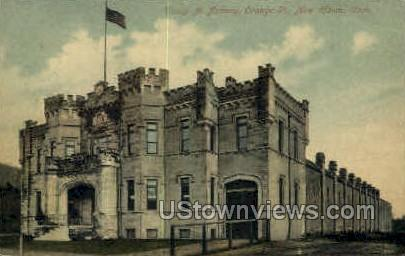 Troop A Armory - New Haven, Connecticut CT Postcard