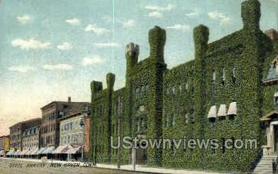 State Armory - New Haven, Connecticut CT Postcard
