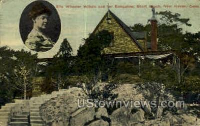 Ella Wheeler Wilcox Bungalow - New Haven, Connecticut CT Postcard