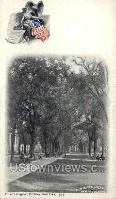 Arthur Livingston - New Haven, Connecticut CT Postcard