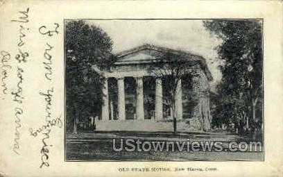 Old State House - New Haven, Connecticut CT Postcard
