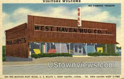 West Have Rug Co. - New Haven, Connecticut CT Postcard