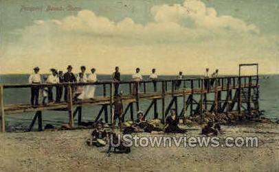 Prospect Beach - New Haven, Connecticut CT Postcard