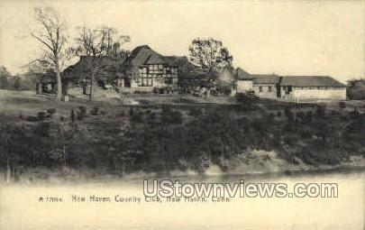 New Haven Country Club - Connecticut CT Postcard