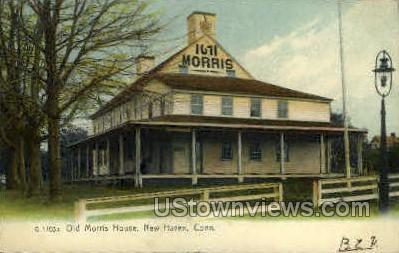 Old Morris House - New Haven, Connecticut CT Postcard