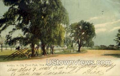 City Point Park - New Haven, Connecticut CT Postcard
