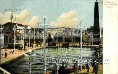 White City - New Haven, Connecticut CT Postcard