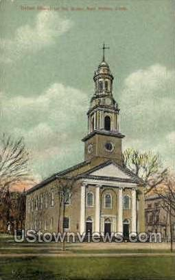 United Church - New Haven, Connecticut CT Postcard