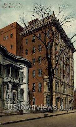 Y. M. C. A. - New Haven, Connecticut CT Postcard