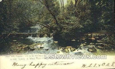 West Rock Park - New Haven, Connecticut CT Postcard