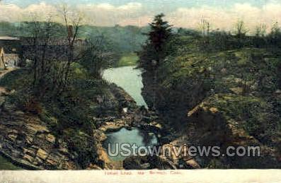 Indian Leap  - Norwich, Connecticut CT Postcard