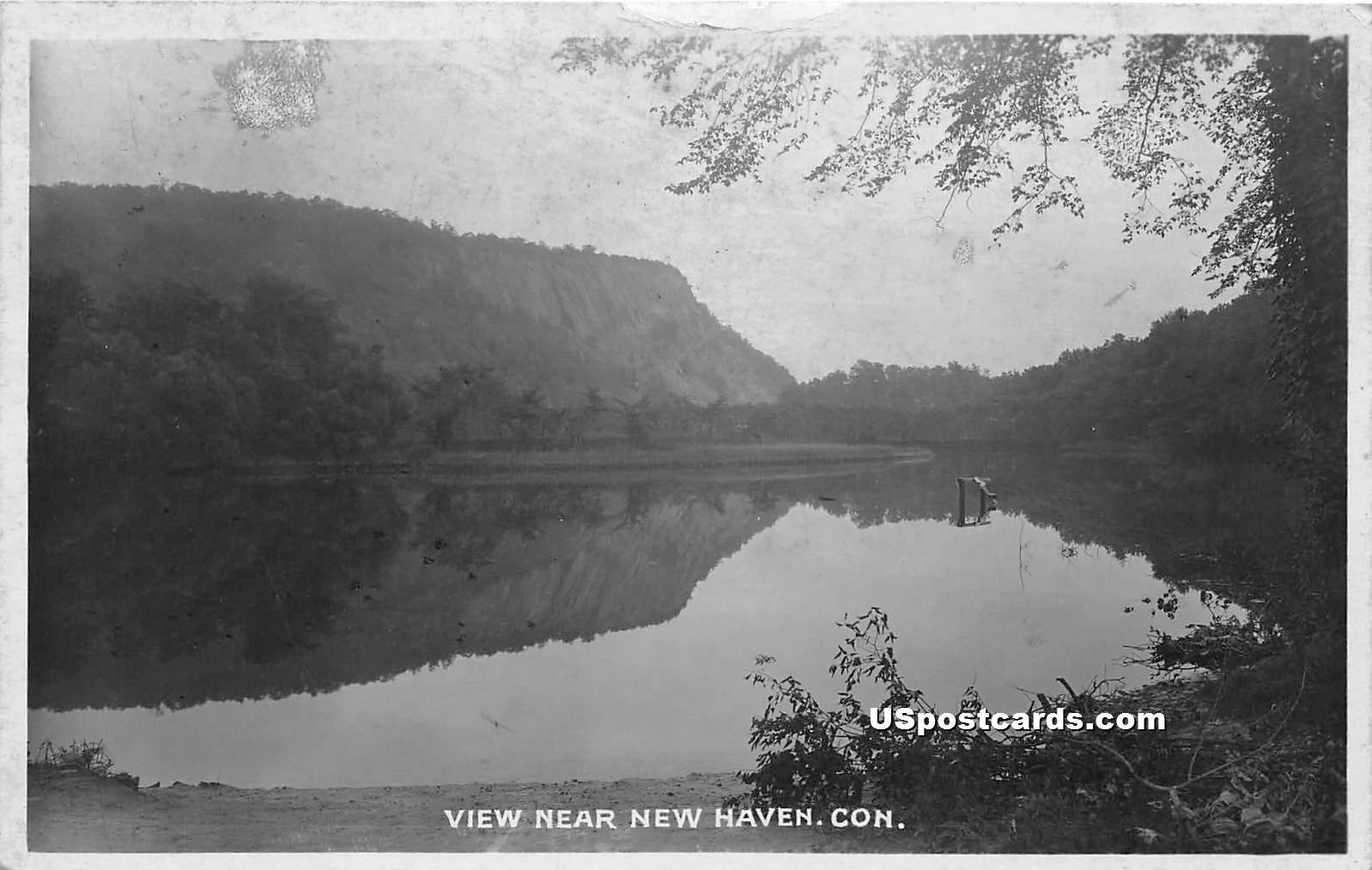 Lake - New Haven, Connecticut CT Postcard