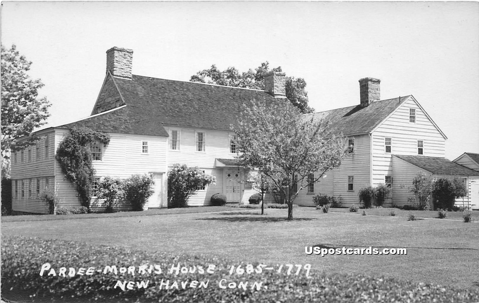 Pardee, Morris House - New Haven, Connecticut CT Postcard