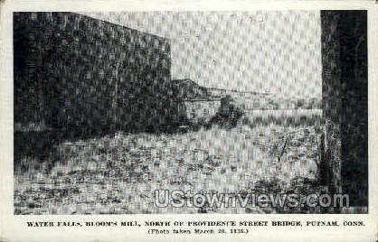 Bloom's Mill - Putnam, Connecticut CT Postcard