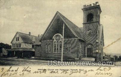 Methodist Church - Putnam, Connecticut CT Postcard