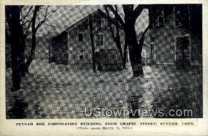 Putnam Box Corp Building - Connecticut CT Postcard