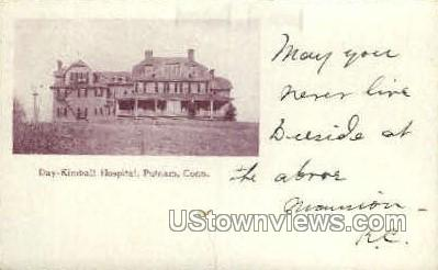 Day Kimball Hospital - Putnam, Connecticut CT Postcard