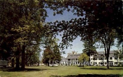 Ben-Grosvenor Inn - Putnam, Connecticut CT Postcard