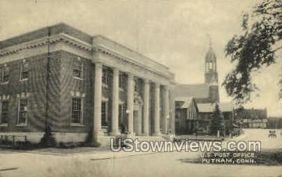 Post Office - Putnam, Connecticut CT Postcard
