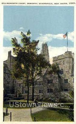 Killingworth Court - New Haven, Connecticut CT Postcard