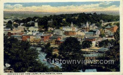 Laurel Hill - Norwich, Connecticut CT Postcard