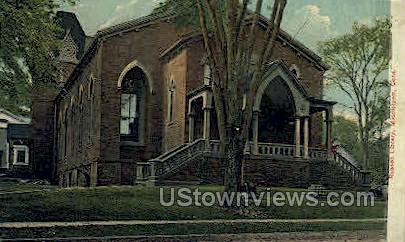 Russell Library - Middletown, Connecticut CT Postcard
