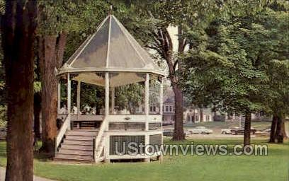 The Green - Milford, Connecticut CT Postcard