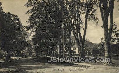 Elm Street - Canaan, Connecticut CT Postcard