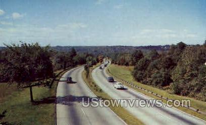 Merrit Parkway - Misc, Connecticut CT Postcard