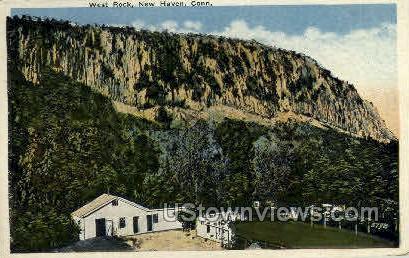 West Rock - New Haven, Connecticut CT Postcard