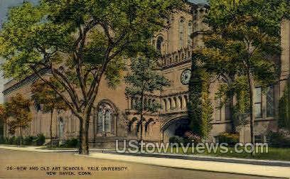 Yale, Art Schools - New Haven, Connecticut CT Postcard
