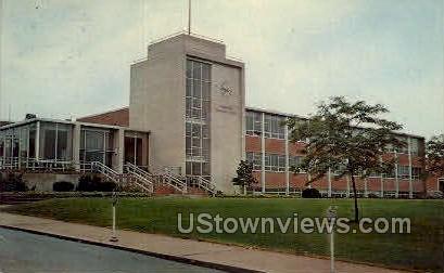 Middletown Municipal Building - Connecticut CT Postcard