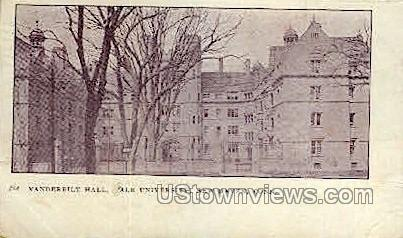 Yale, Vanderbilt Hall - New Haven, Connecticut CT Postcard