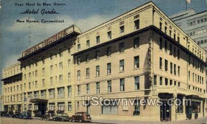 Hotel Garde - New Haven, Connecticut CT Postcard