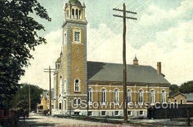 St. Joseph R. C. Church - New Haven, Connecticut CT Postcard