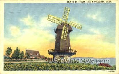 Knollcrest - Lake Candlewood, Connecticut CT Postcard
