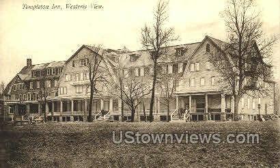 Templeton Inn - Misc, Connecticut CT Postcard
