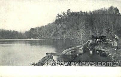 Brides Pond - Salem, Connecticut CT Postcard