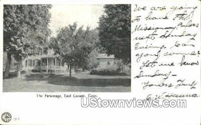 The Parsonage - East Canaan, Connecticut CT Postcard