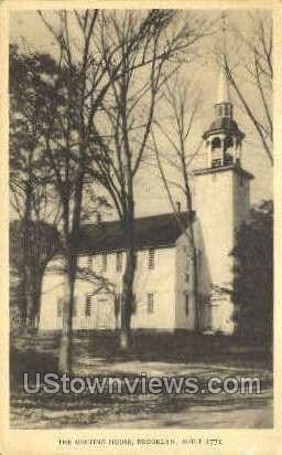The Meeting House - Brooklyn, Connecticut CT Postcard