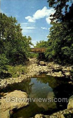 Bulls Bridge - Connecticut CT Postcard
