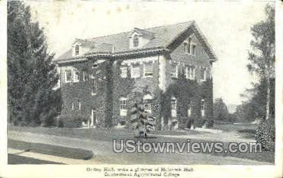 Connecticut Agricultural College - Misc Postcard