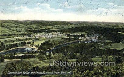 Connecticut Valley - Bald Hill Postcard