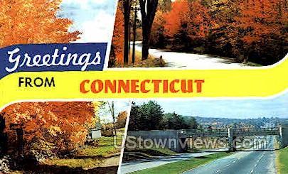 Connecticut Information - Misc Postcard