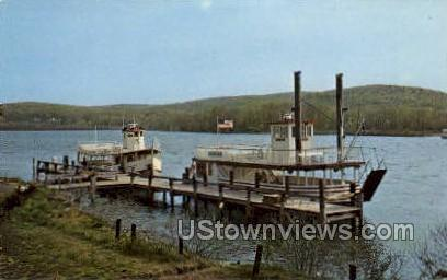 Connecticut Rover Cruise Boats - East Haddam Postcard