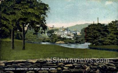 Silk Mills - Putnam, Connecticut CT Postcard