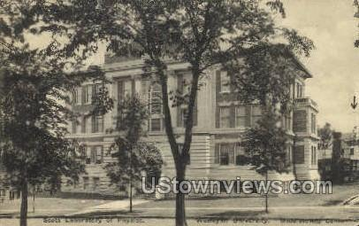 Laboratory of Physics  - Middletown, Connecticut CT Postcard