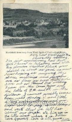 Northfield Seminary - Misc, Connecticut CT Postcard