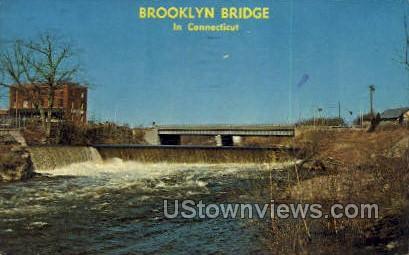 Brooklyn Bridge - Danielson, Connecticut CT Postcard