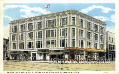 Meriden House - Connecticut CT Postcard